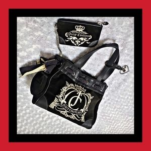 Juicy couture vintage The Royal Collection bag set